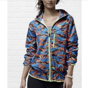 Nike Camouflage Windbreaker Jacket XL Packable